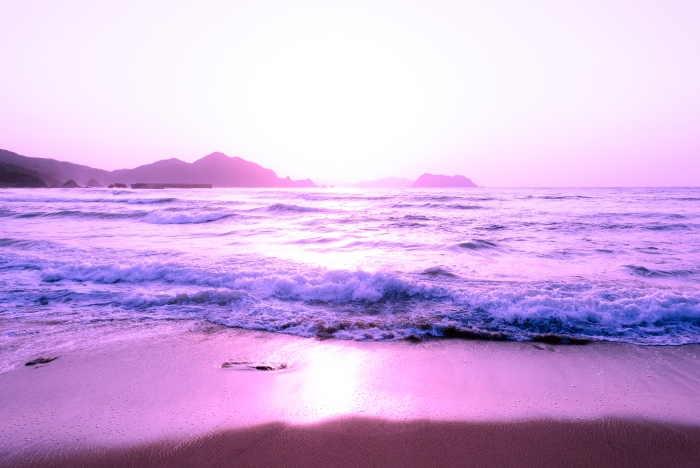 beach-purple