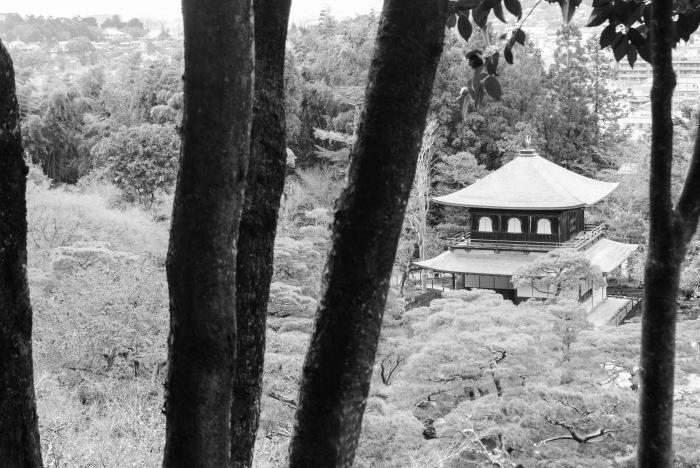 ginkaku-ji-black-and-white
