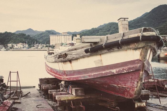 vintage-boat-japan